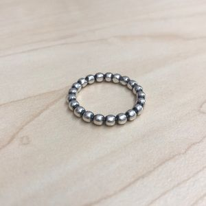 Pandora ALE925 Dotted Ring Sterling Silver 7